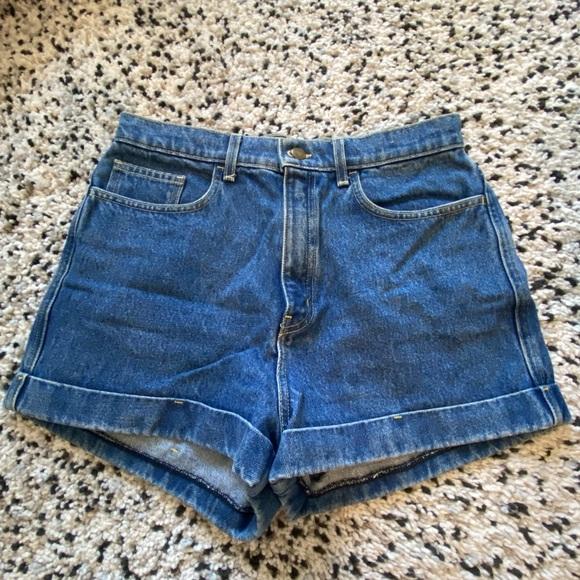 Mom Shorts - American Apparel